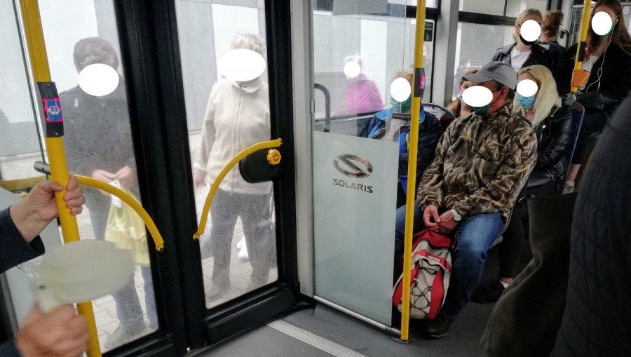 Koronawirus. Łamane są przepisy w autobusach ZKKM