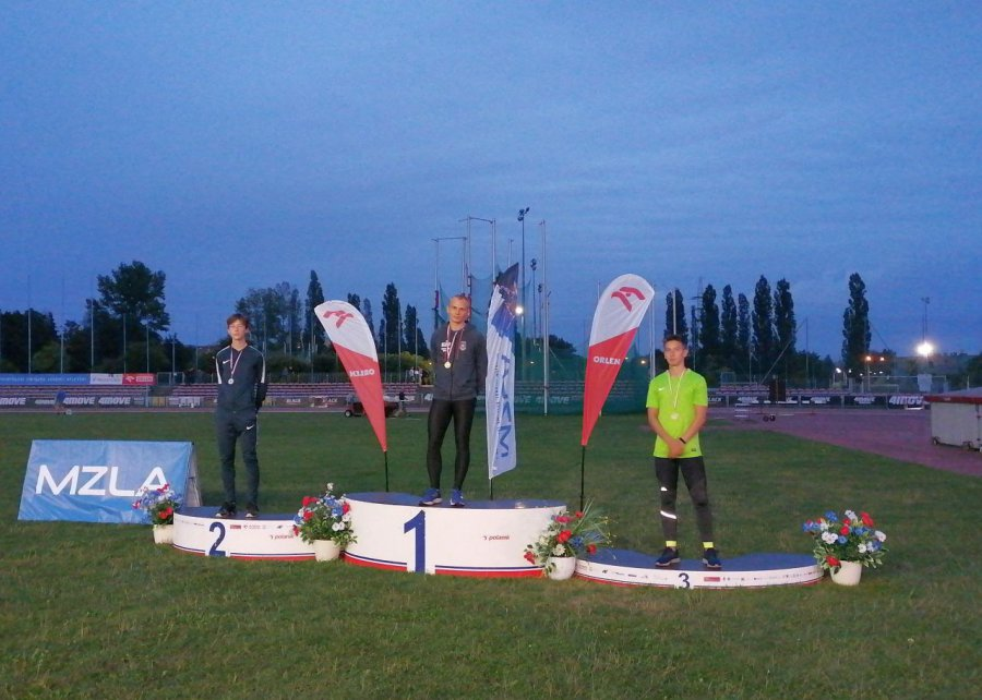 Lekkoatleci z Trzebini pokazali moc w Krakowie