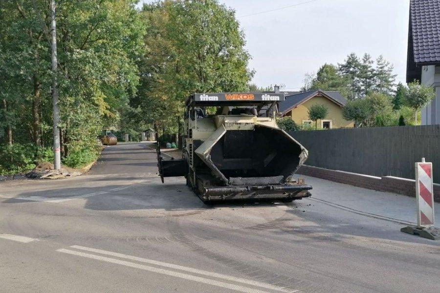 Nowy asfalt już położony