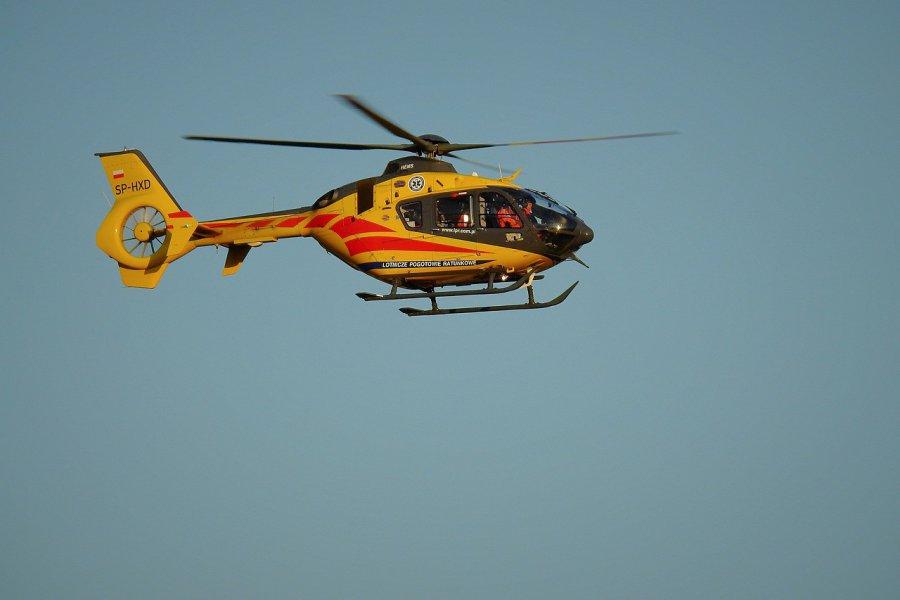 Poszkodowany w wypadku trafił do szpitala w Sosnowcu