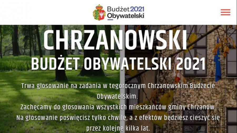 Rozpoczęło się głosowanie na piętnaście obywatelskich projektów