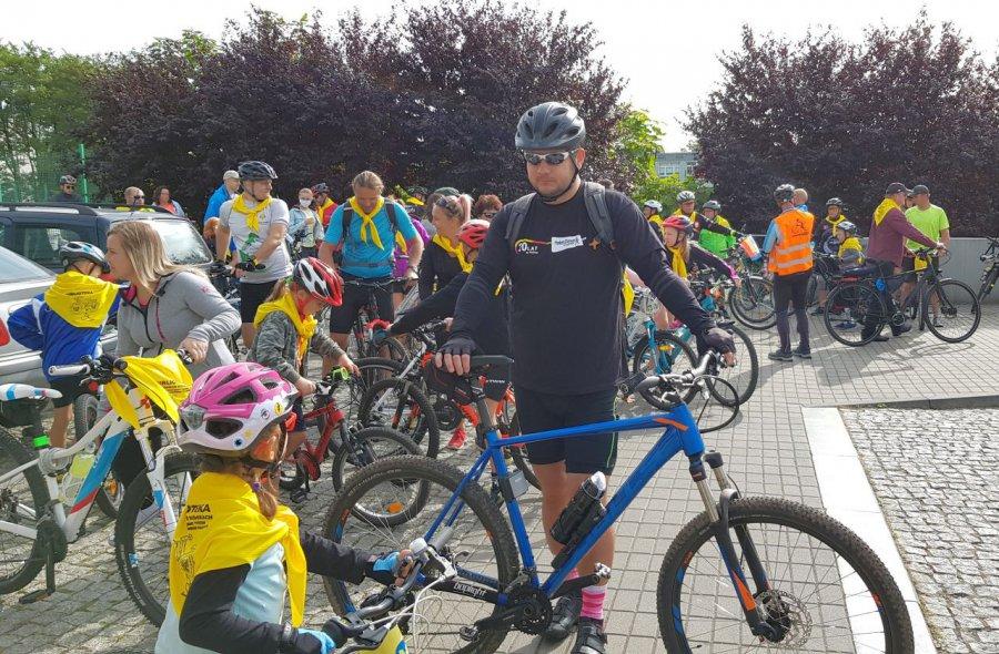 Rowerzyści nie zawiedli organizatorów (WIDEO)