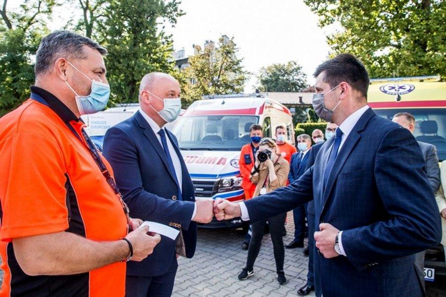 Karetka za ponad 600 tys. zł dla chrzanowskiego szpitala