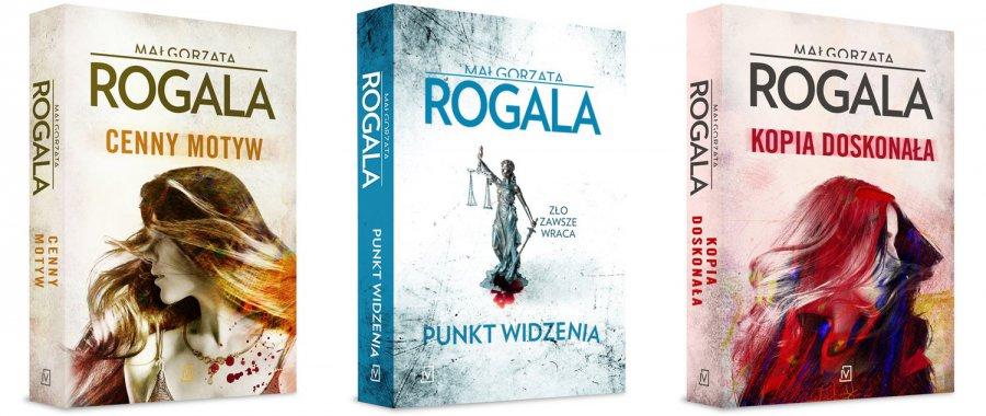 Książki Małgorzaty Rogali, które warto przeczytać