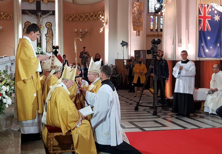 Nowy biskup wyświęcony w Trzebini (WIDEO)