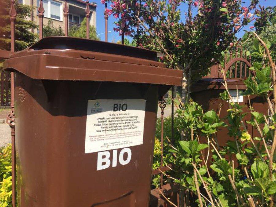 Co zrobić z niepotrzebnym kubłem na bioodpady?