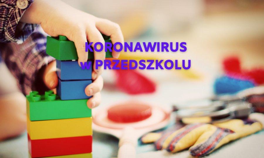 """COVID-19 w oddziale przedszkolnym """"ósemki"""""""