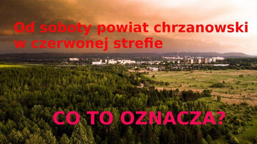 KORONAWIRUS. Powiat chrzanowski w strefie czerwonej