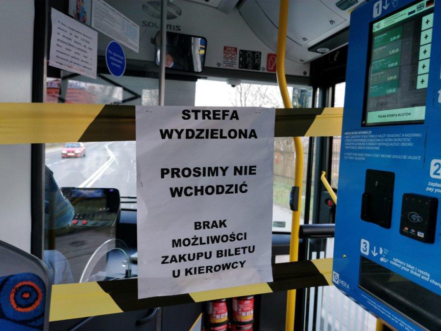 ZKKM Chrzanów powiększa strefę bezpieczeństwa w autobusach