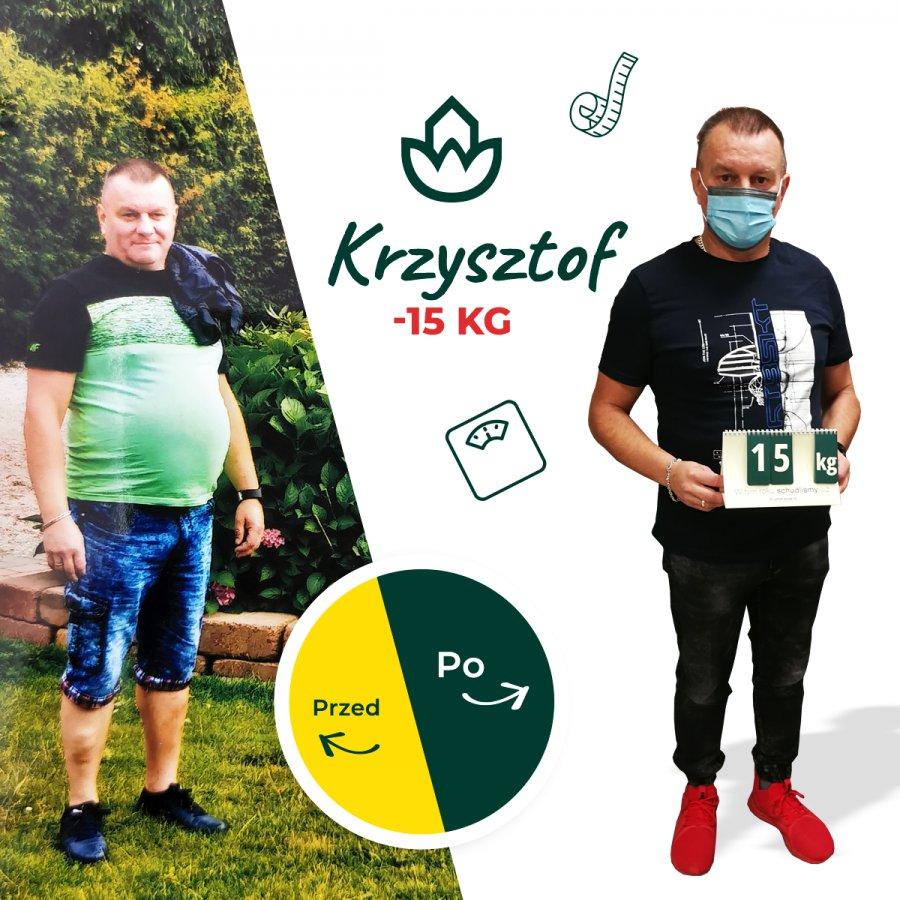 Fenomenalna metamorfoza - pan Krzysztof waży 15 kg mniej - cel osiągnięty w Centrum Dietetycznym NaturHouse w Chrzanowie!