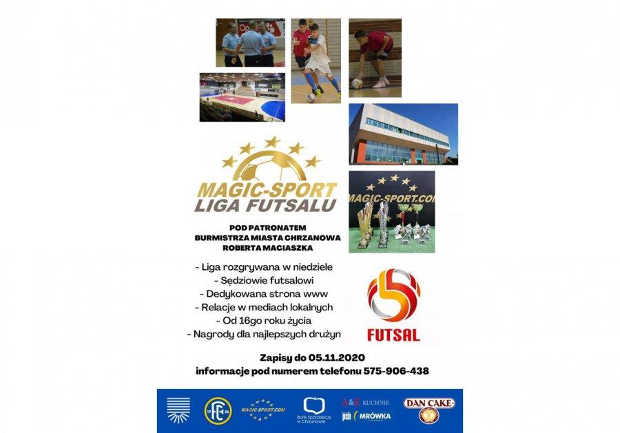 Startuje Magic-Sport Liga Futsalu. Zgłoszenia trwają