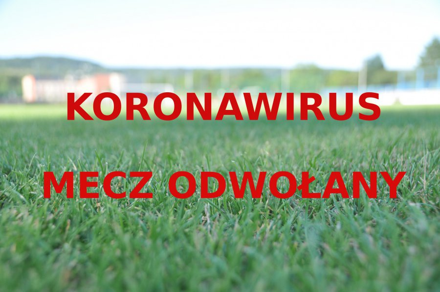 Koronawirus w drużynie piłkarskiej. Mecz odwołany