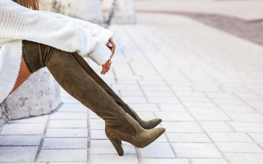 Do czego nosić kozaki za kolano?