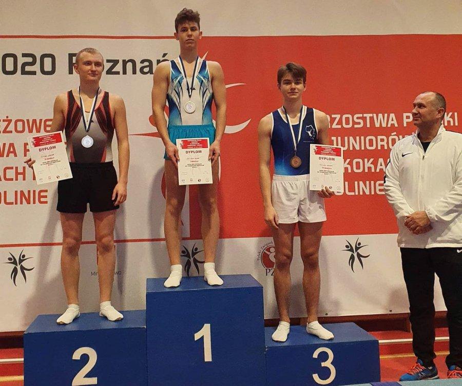 Akrobata z Chrzanowa został mistrzem Polski juniorów