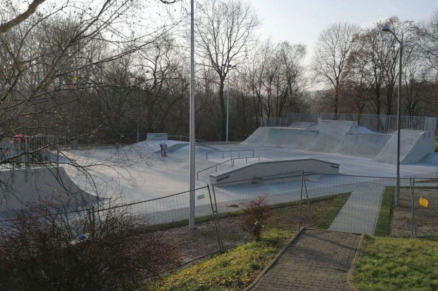 Skatepark już gotowy. Podoba się Wam?
