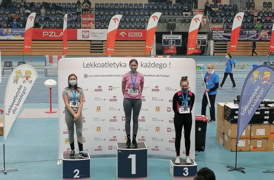 Lekkoatletka z Trzebini wygrała w Toruniu