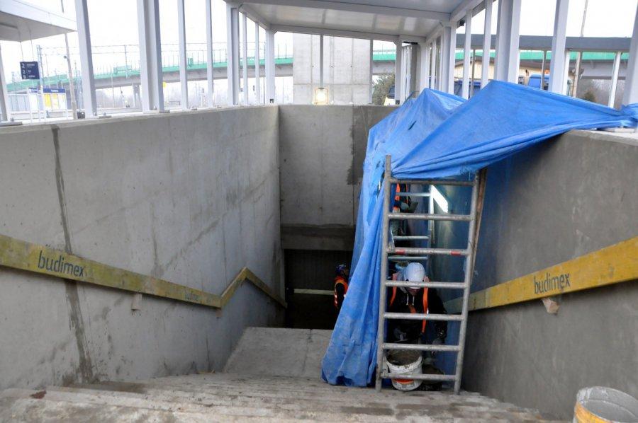Zobacz przejście podziemne i nowe perony na stacji PKP w Trzebini (WIDEO, ZDJĘCIA)