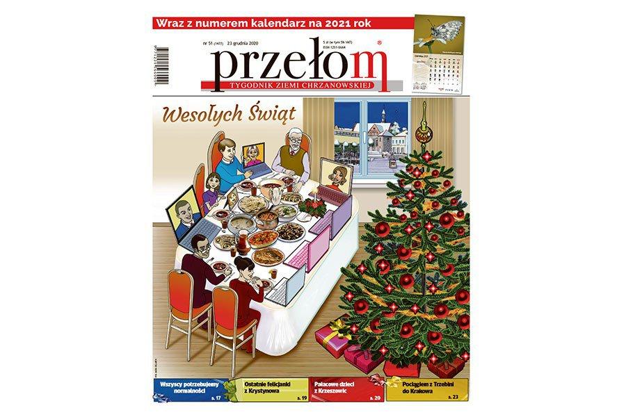 """W środę 51. świąteczno-noworoczne wydanie """"Przełomu"""""""