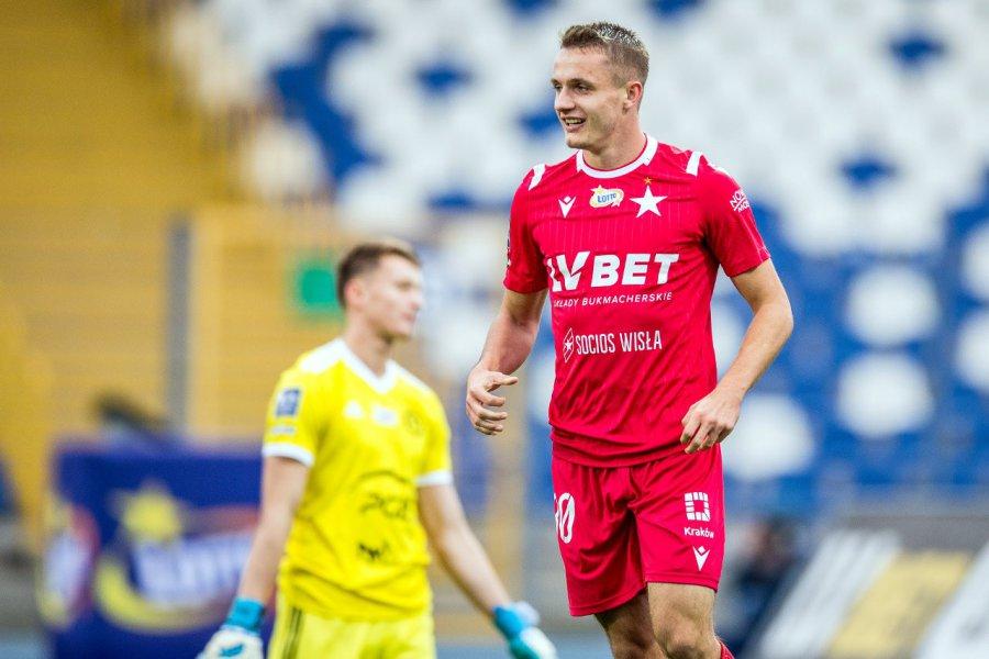 Piłkarz z Libiąża podpisał nowy kontrakt z Wisłą Kraków
