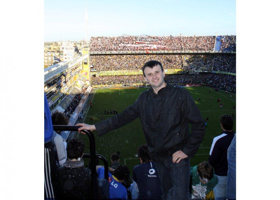 Sołtys oglądał w Argentynie mecz Boca Juniors z River Plate (WIDEO, ZDJĘCIA)