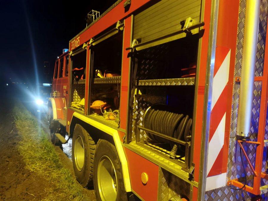 Pożar wybuchł w domu w gminie Krzeszowice