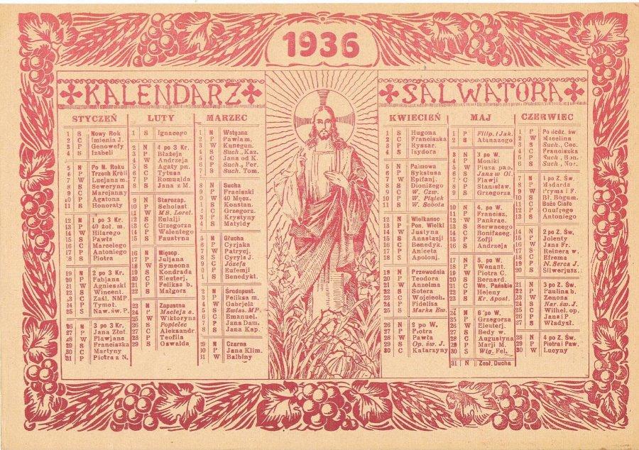 Kalendarze XX wieku zachwycały i formą, i treścią. Zobaczcie.