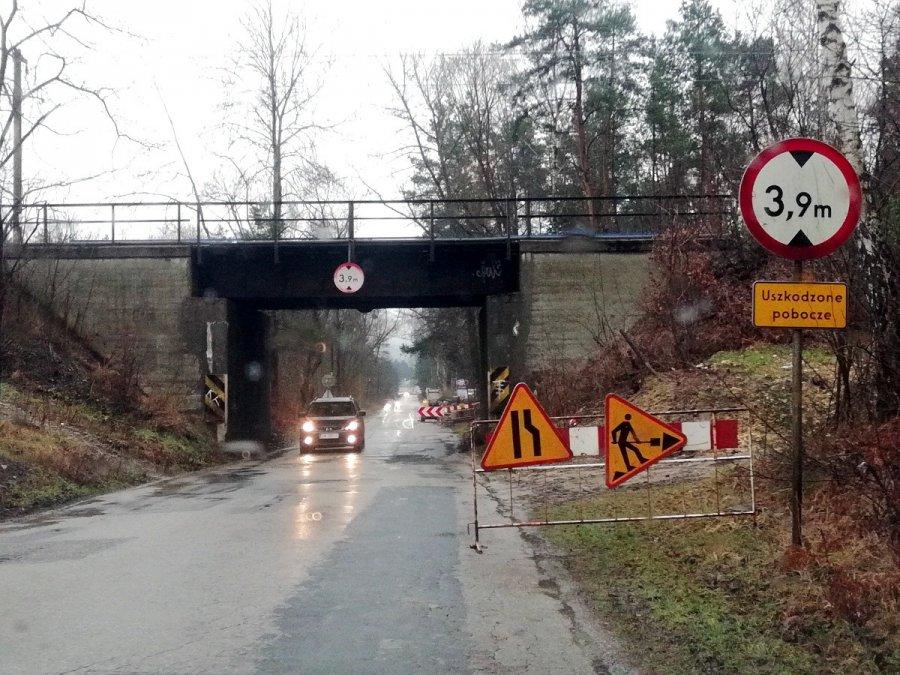 W końcu droga łącząca Chrzanów z Libiążem jest remontowana