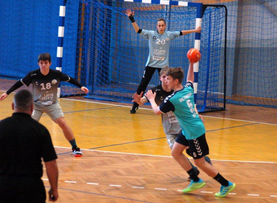 Lider z Tarnowa za mocny dla młodych piłkarzy ręcznych z Libiąża (WIDEO, ZDJĘCIA)
