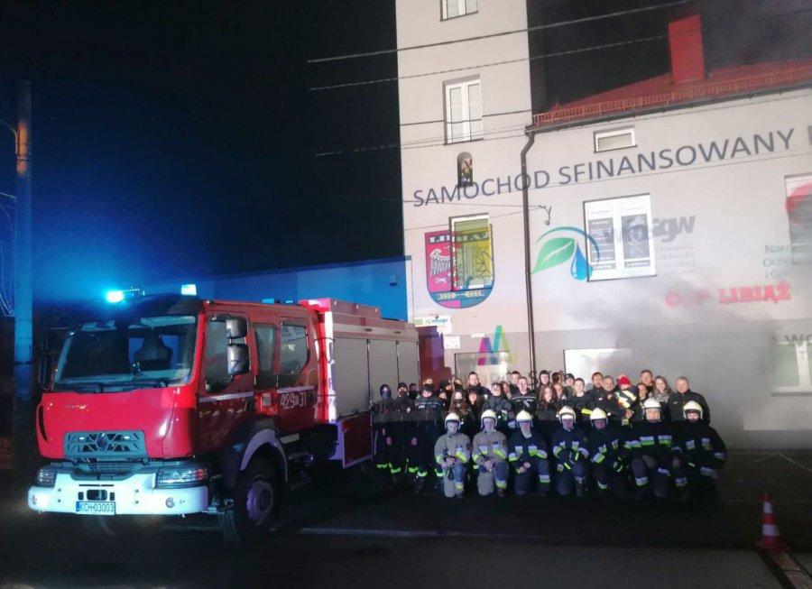 Strażacy z Libiąża i Myślachowic mieli najwięcej pracy w minionym roku