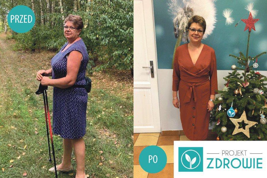 Kolejna spektakularna metamorfoza w Projekt Zdrowie - Pani Basia schudła 24 kilogramy!