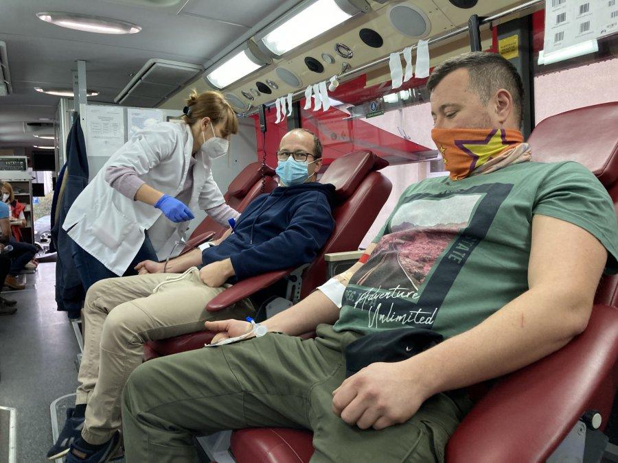 Górnicy przekazali do szpitali 500 litrów krwi w ubiegłym roku