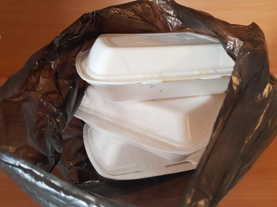 Styropian - kłopotliwy odpad