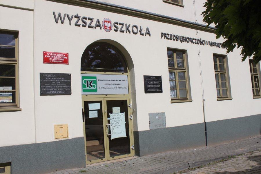 Gmina Chrzanów stała się współwłaścicielem budynku po dawnej WSPiM, za co dawno temu zapłaciła