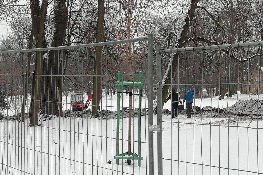Koniec jazdy na sankach. Park w Kościelcu zamknięty