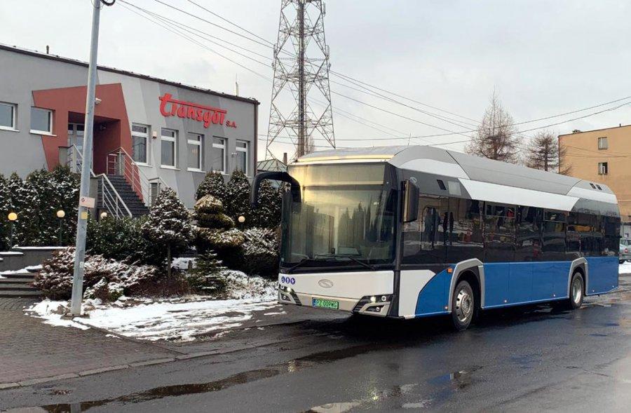 Autobus wodorowy w Transgórze. Na razie to tylko pokaz