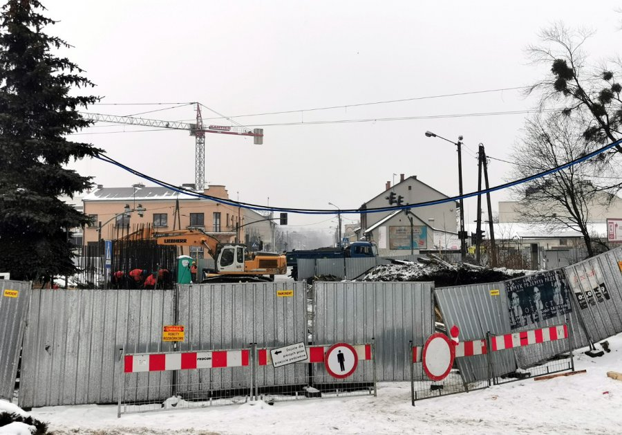 Po wiadukcie nad Krakowską w Chrzanowie nie ma śladu (WIDEO, ZDJĘCIA)