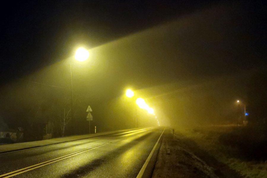 Meteorolodzy ostrzegają przed gęstą mgłą