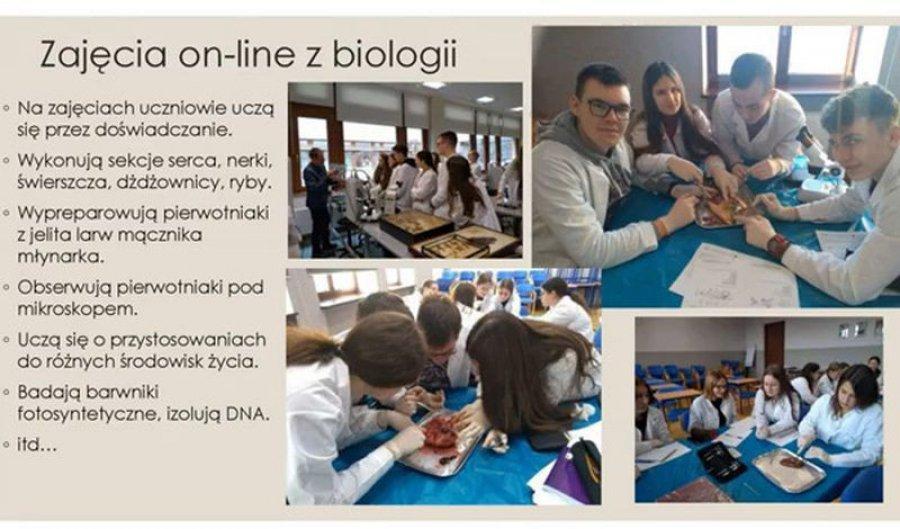 Licealiści z Chrzanowa uczestniczą w wykładach online dzięki Małopolskiej Chmurze Edukacyjnej