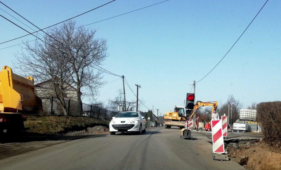 Ciasno na Krakowskiej, bo znów ruszył remont drogi