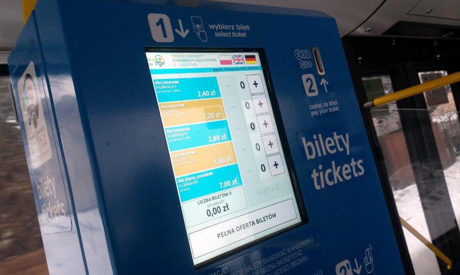 Mniej pasażerów w autobusach ZKKM. Wpływy z biletów mocno w dół