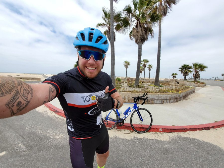 Kamil wybiera się rowerem od Pacyfiku po Atlantyk