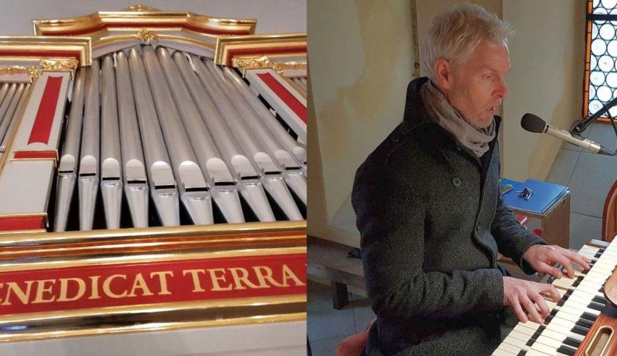 Od 30 lat jest w Chrzanowie organistą. Lubi improwizować. (WIDEO)
