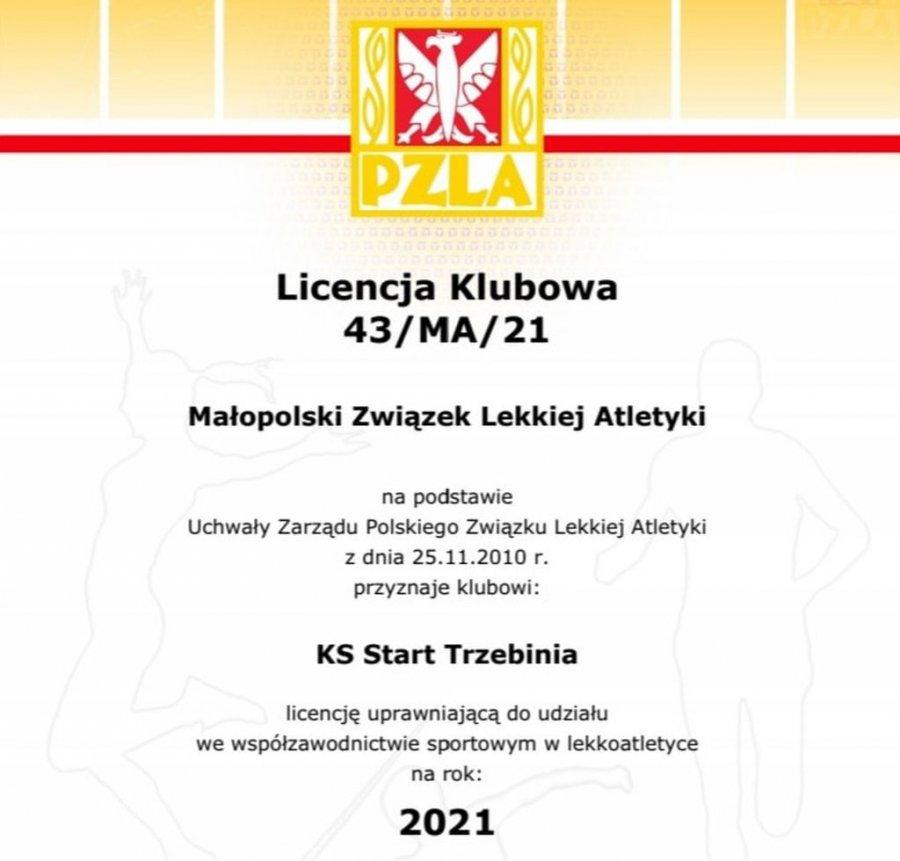 W Trzebini powstał drugi klub lekkoatletyczny