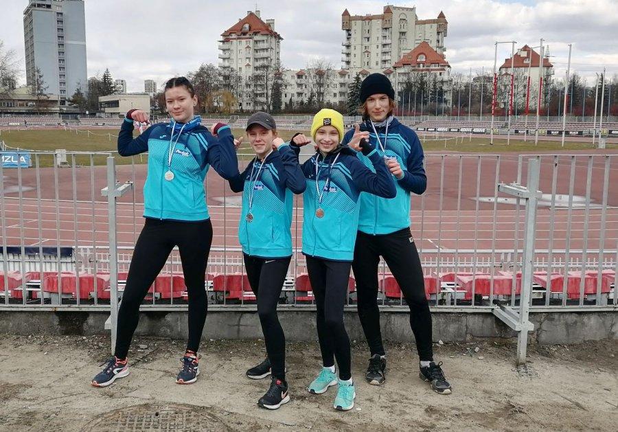 Cztery medale lekkoatletów Trzebini w Grand Prix w Biegach Przełajowych