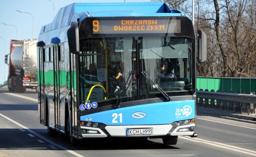 Zmiany w rozkładzie jazdy autobusów linii numer 9