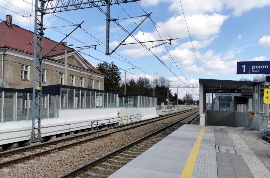 Zobaczcie postęp prac na przystanku kolejowym w Dulowej (WIDEO, ZDJĘCIA)
