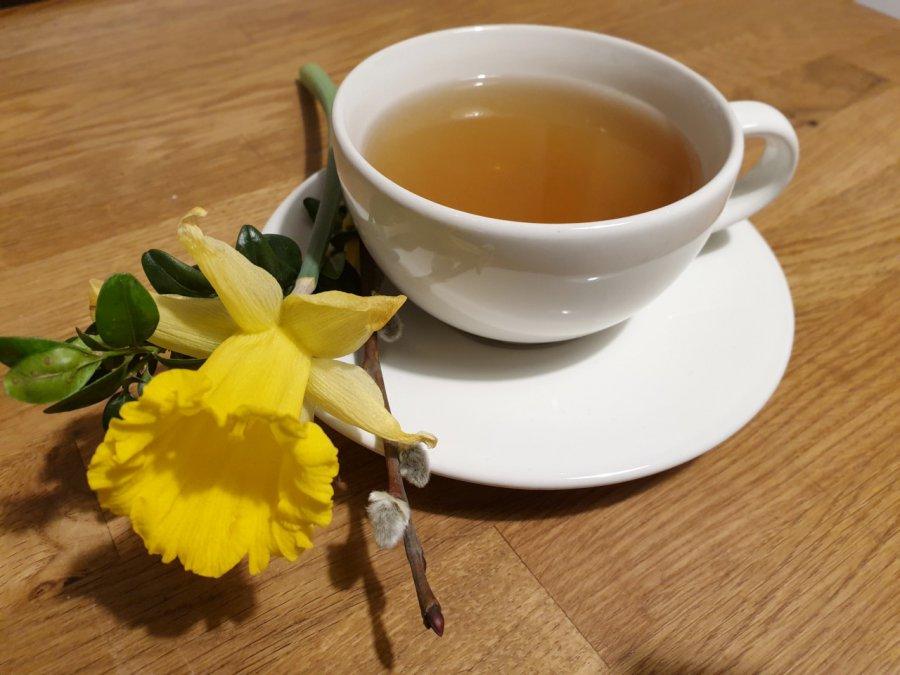 Herbatka na trawienie podczas świąt dobrze nam zrobi