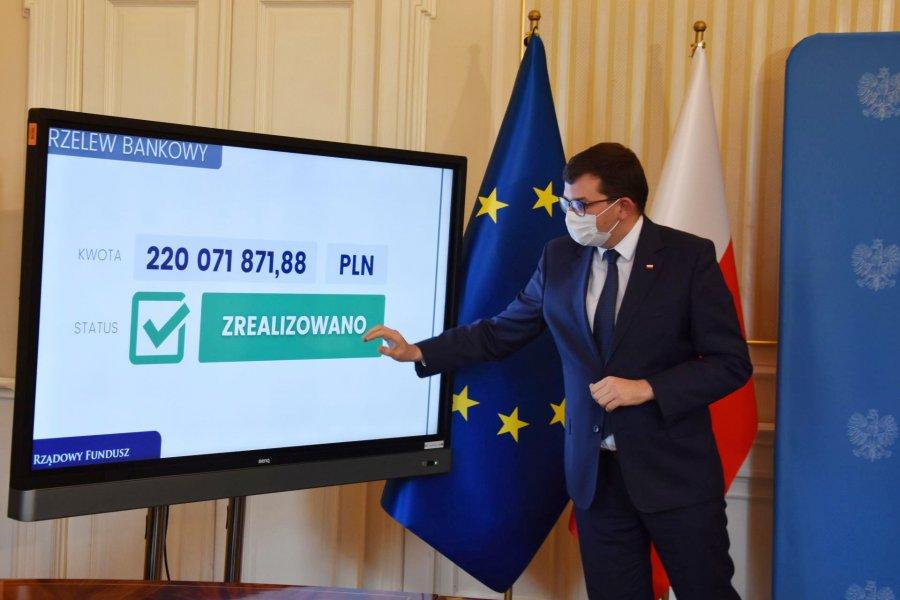 Wojewoda zrobił dziś przelewy na konta małopolskich gmin i powiatów, ale Chrzanów i Babice nic nie dostaną