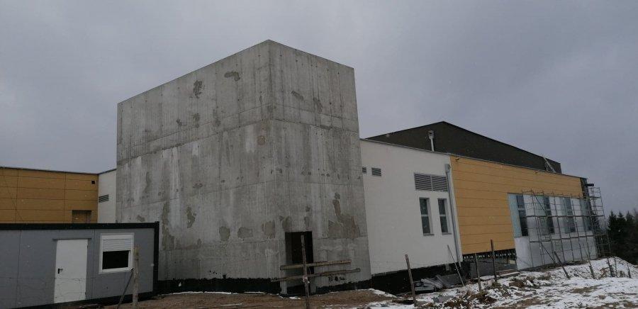 Tak wygląda basen w Libiążu na rok przed ukończeniem inwestycji (WIDEO)