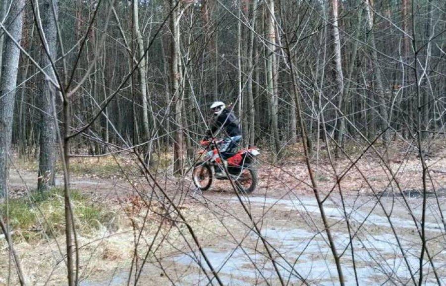 Motocykle i quady rozjeżdżają lasy